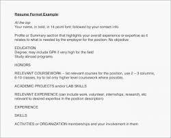Australian Resume Examples Examples Of Resumes Australia Resume
