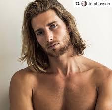 Coiffure Homme Mi Long Blond Cheveux Long