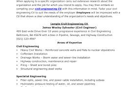 Heavenly Civil Engineer Sample Resume Civil Engineer Resume