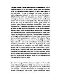 this essay proposes to discuss different accounts of the welfare page 1 zoom in