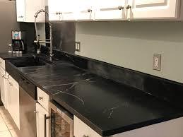 Kitchen Splash Guard Still Working On The Kitchen Artistic Soapstone Incorporated