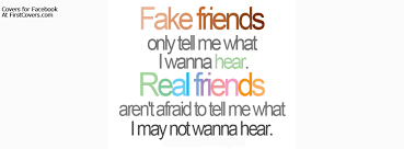 Fake Friends Quotes Amazing Real Friends Facebook Cover Profile Cover 48 FirstCovers