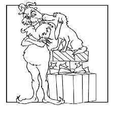 Grinch Christmas Printable Coloring Pages Jerusalem House