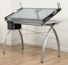outstanding ikea drawing table linnmon finnvard desk with glass top and storage underneath