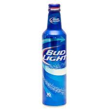 16 Ounce Bud Light Bud Light Beer 16oz Tin Bottle