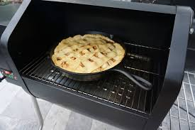 Mar 13, 2021 · once everything looks combined, add it to a greased 10 cast iron skillet, bread pan, or shaped into a loaf in another oven safe dish. Smoked Bourbon And Salted Caramel Apple Pie Grillgirl