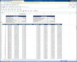 Amortization Schedule With Extra Principal Amortization Schedule Template Excel Loan Table Repayment In Student