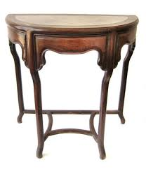 to view additional photos chinese antique huali wood half round table