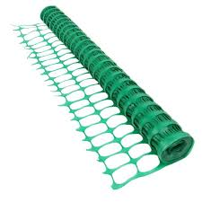 green construction snow safety barrier fence