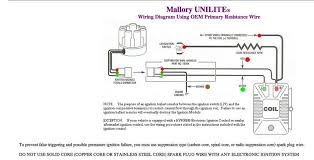 mallory unlite distributor wiring the correct wiring diagram to use for a mallory unilite distributor on a tr4 my coil which is a mallory electronic distributor was bought specifically