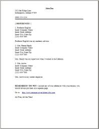 Reference Page Of Resume Under Fontanacountryinn Com