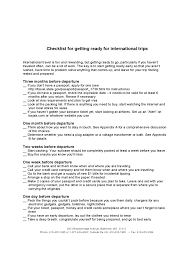 2019 Travel Checklist Template Fillable Printable Pdf Forms