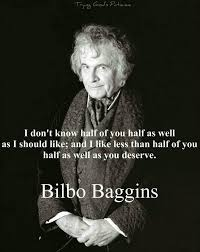 Bilbo Baggins Quotes Classy Don't Know If I Should Applaud Or €�One Does Not Simply Walk Into