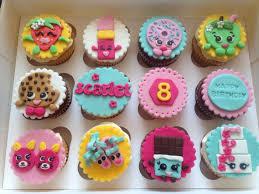 Shopkins Cupcakes Ellas Birthday Cupcake Cakes Shopkins Cake