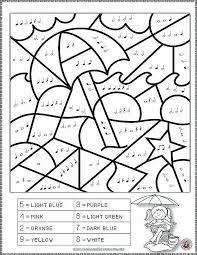 Fresh Easter Music Coloring Pages Ishagnet