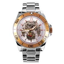 kenneth cole silver skeleton dial mens watch kc9254