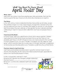 What You Need to Know About April Fool's Day   April fools day, April fools  pranks, April fool's day