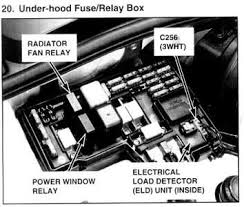 how can i test my 1994 honda accord ex condenser fan relay fixya 1995 Honda Accord Ex Fuse Box Location 1994 honda the two fans in front of the motor do not come on what do i need to do? 1995 honda accord fuse box diagram