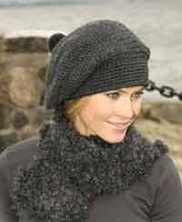 Crochet Beret Pattern New Over 48 Free Crocheted Hat Patterns At AllCraftsnet