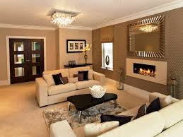 Living Room Decorating Feature Wall Living Room Orange Feature Wall Nomadiceuphoriacom