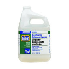 p g pro line comet disinfecting bathroom cleaner