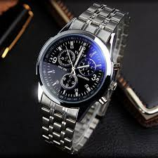 blue dial watches reviews online shopping blue dial watches yazole full steel white black blue ray dial 30m waterproof luminous hands business dress sport wrist watch watches for men male