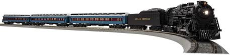 This year we are introducing a newly decorated and enhanced the polar express lionchief set equipped with our lionchief bluetooth technology. Amazon Com Lionel The Polar Express Electric S Gauge American Flyer Model Train Set W Remote And Bluetooth Capability Toys Games