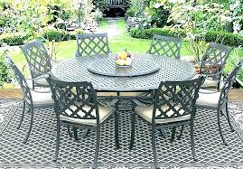 new 60 inch round outdoor dining table or inch round patio table inch round patio table
