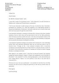 Letter Examples Intern