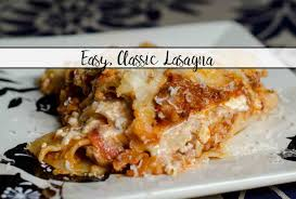 Classic Lasagne Easy Classic Lasagna Step By Step Pictures Instructions