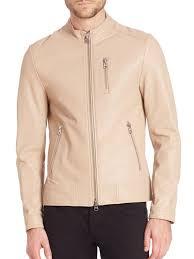 mackage leather moto jacket sand men apparel shearling mackage jacket armada leather wool collar super quality