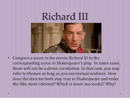 elit class end richard iii introduce essay  richard iii