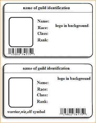 Free Id Badge Template Id Badge Template Word Lavanc Org
