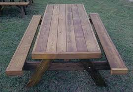 Heavy Duty Picnic Tables Made By Quality Patio Furniture