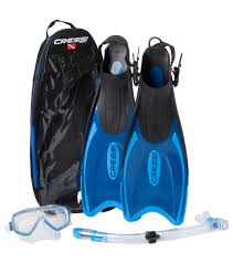 Cressi Palau Bag Mask Snorkel And Fin Set
