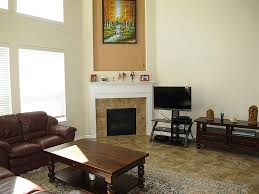 Decorations:Modern Corner Fireplace Decoration Idea Elegant Corner Fireplace  Family Room With Pattern Rug Decor