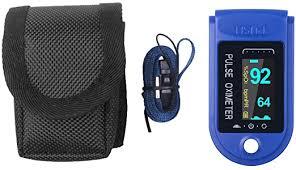 PUJING Pulse Oximeter <b>Digital Finger Oximeter Portable</b> Fingertip ...