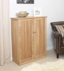 nara solid oak hidden.  Oak Nara Solid Oak Hallway Patio Furniture Large Shoe Storage Cupboard For Hidden O