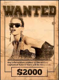 Wanted Poster Template For Pages Wanted Poster Template Pdf Inspirational Person Template Free Free