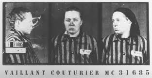 steven spielberg film and video archive communist female mug shot of female auschwitz prisoner marie claude vaillant couturier