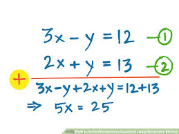 image titled solve simultaneous equations using elimination method step 4bullet4