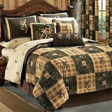 hunting themed comforter sets browning country 4 twin quilt bedding set lodge log cabin outdoor king