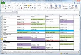 excel for scheduling theworxhub help site