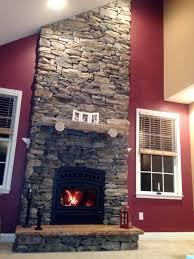 fireplace install with eldorado stone