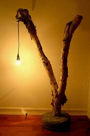 Tree branch lighting Backyard Tree Branch Lamp Instructables Tree Branch Lamp 15 Steps with Pictures