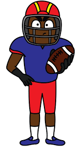 football fan clipart. football player to draw, use this step by guideline and enjoy! http: fan clipart