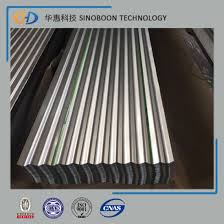 galvalume corrugated steel roof sheet for building