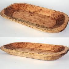 antique wooden bread bowl dough wood bowls food