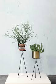 midcentury indoor planters