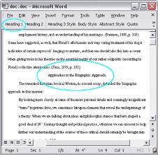 Apa Paper Heading Formatting Section Headings